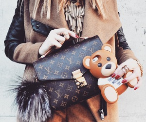 fashion, furball, and Louis Vuitton image