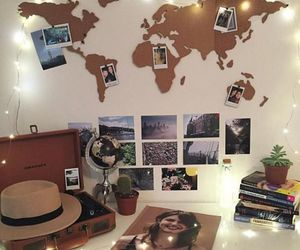 travel, room, and world image