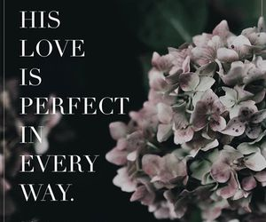 god, perfect love, and love image