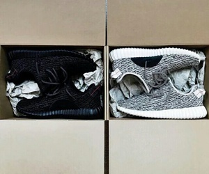 kanye west, yeezy, and shoes image