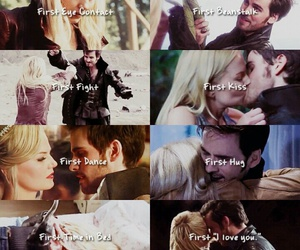 once upon a time, true love, and captain hook image