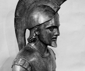 armor, warrior, and trojan image