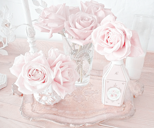 pink and roses image