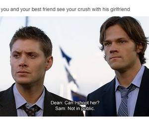 crush, dean, and Sam image