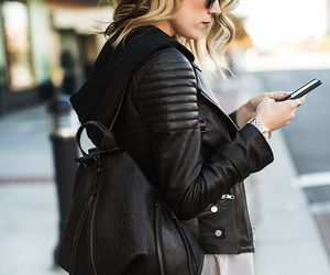 fashion, style, and backpack image