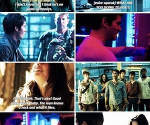 funny, the maze runner, and the scorch trials image