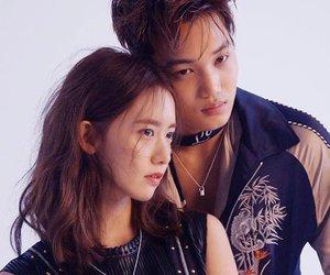 kai, exo, and yoona image