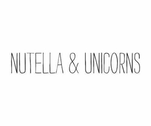 nutella unicorns goals image