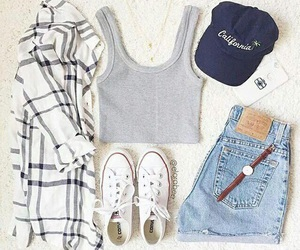 outfit, clothes, and summer image