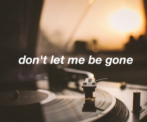 gone, Lyrics, and sad image