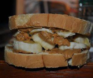 banana, bread, and tasty image