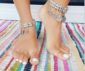 feet, accessories, and beautiful image