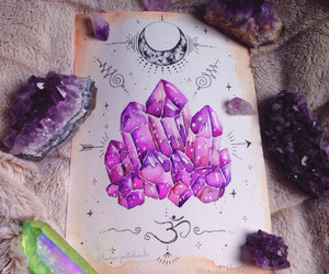 crystal, art, and gems image