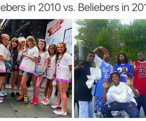 funny, justin bieber, and fan image
