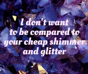 cheap, compare, and glitter image
