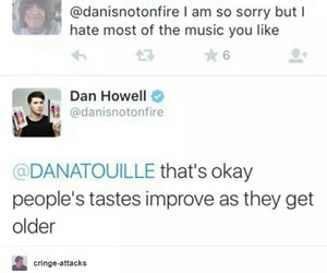 danisnotonfire, dan howell, and tumblr image