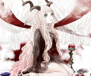 anime, girl, and pixiv image