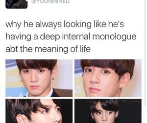 kpop memes, jungkook, and bangtan memes image