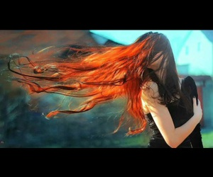 beauty, hair, and red hair image
