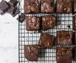 brownies, recipe, and vegan image