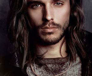 hair, beard, and eyes image