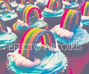 arcoiris and cupcakes image