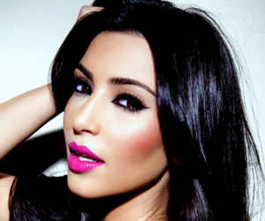 kim kardashian, kim, and makeup image