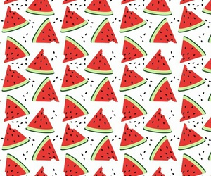 pattern and watermelons image