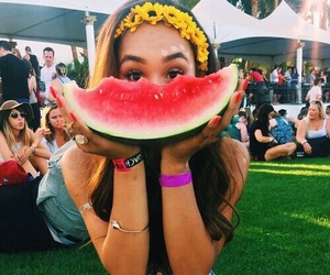 watermelon, summer, and tumblr image