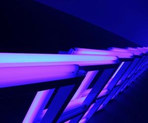 purple, glow, and aesthetic image
