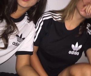 adidas, tumblr, and friends image