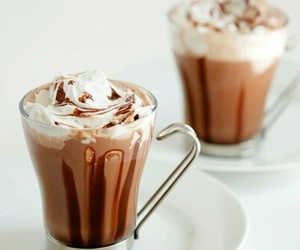 yummy, chocolate, and drink image