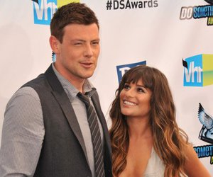 cory monteith and lea michelle image