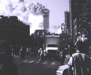 new york and 9 11. twin towers image