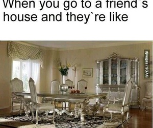 funny, friends, and house image