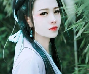 art, girl, and korean girl image