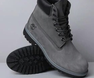 timberland, grey, and shoes image