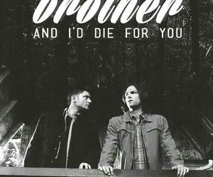 supernatural, Jensen Ackles, and brothers image