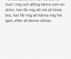 svenska, swedish, and kärlek image