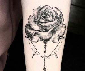 rose, tattoo, and amazing image