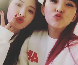 sohyun, hyuna, and 4minute image
