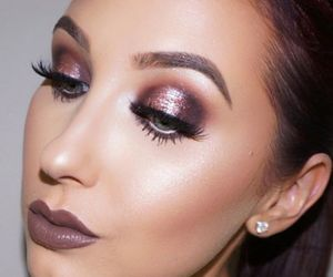 beauty, maquillage, and maquiagem image