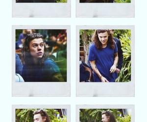 background and polaroid image