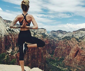 fitness, yoga, and sport image