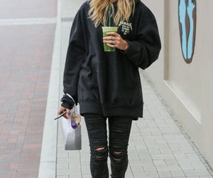 hailey baldwin, outfit, and style image