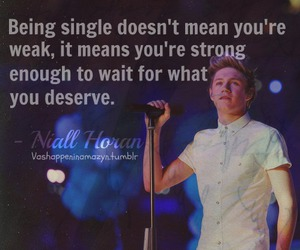 niall horan, quote, and one direction image