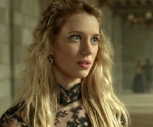 blue eyes, reign, and yael grobglas image