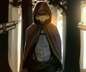 anime boy and attack on titan image