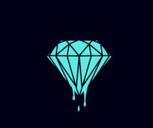 diamond, black, and wallpaper image