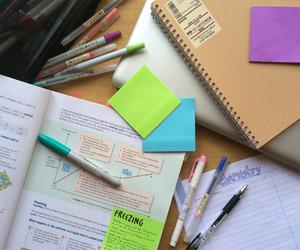 studying, hard work, and student life image
